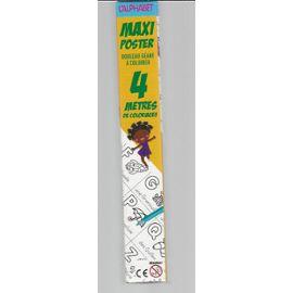 Maxi Poster L Alphabet Rouleau Geant A Colorier 4 Metres De Coloriages Rakuten