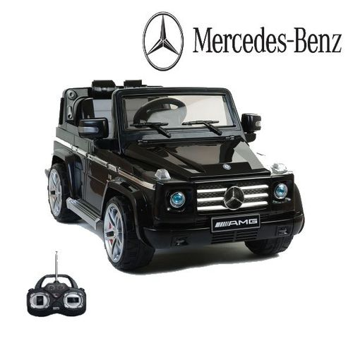Amg Mercedes Enfant2 Volts Moteurs12 G55 Électrique NoirVoiture IYv6y7bfg
