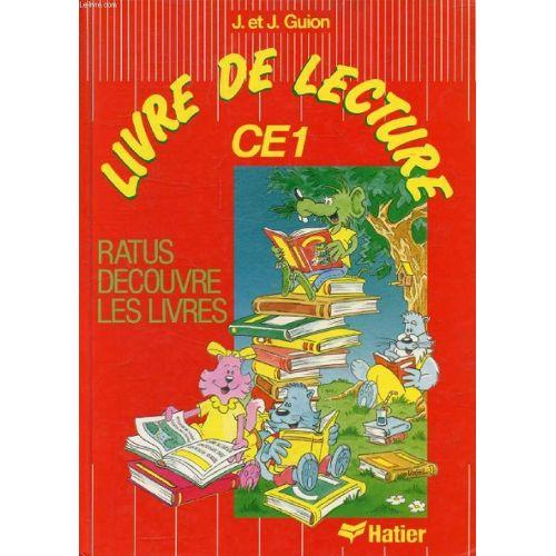 Methode De Lecture Ce1 Ratus Decouvre Les Livres