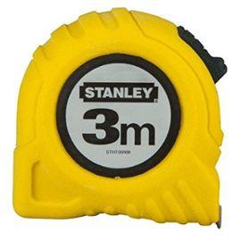 Stanley 3253560304874 Global Tape Mesure 3 m//12,7 mm 3 m Jaune//Noir