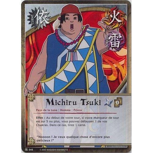 Michiru Tsuki, Client N° 045, Carte Naruto Shippuden Vf ...