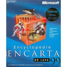 Microsoft Encarta Encyclopedia Deluxe - (V  99) - Version Boîte - 1  Utilisateur - Cd - Win - Français)