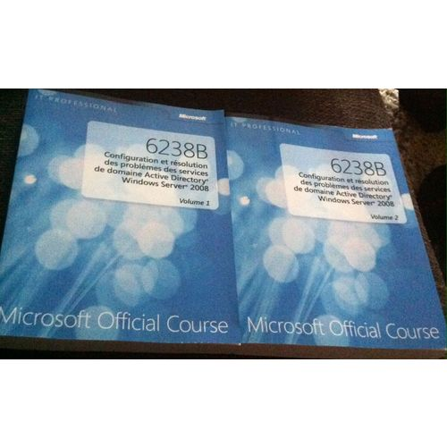 Microsoft Official Course 6238B