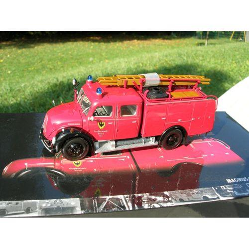 1:43 MINICHAMPS Magirus-Deutz Merkur TLF 16 des sapeurs pompiers de Aachen