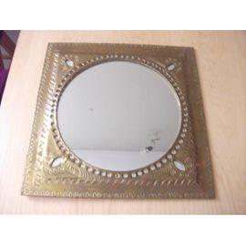 Miroir cuivre artisanat algérien