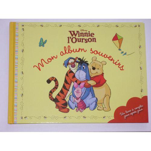 Mon Album Souvenirs Et Photos Winnie L Ourson Disney Livre De Naissance