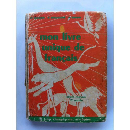 Mon Livre Unique De Francais