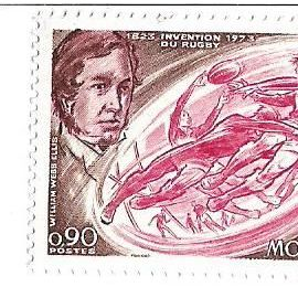 Monaco : Invention Du Rugby 1823-1973 (0,90)