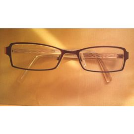 service durable nuances de éclatant Montures de lunettes de vue marron Krys