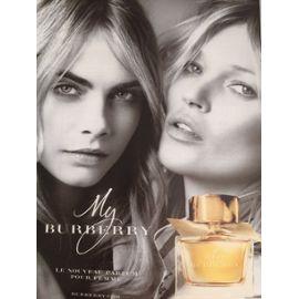 De Delevigne Avec Et Publicité Parfum Cara Burberry My ikuTOZXP