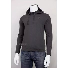 Ralph Homme T Neuf Sweat Lauren Shirt Fin Polo Longues Manches D29YEHIeW