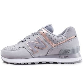 basket new balance grise