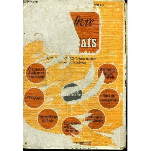 Notre Livre De Francais Cours Moyen 2eme Annee Entree En 6eme