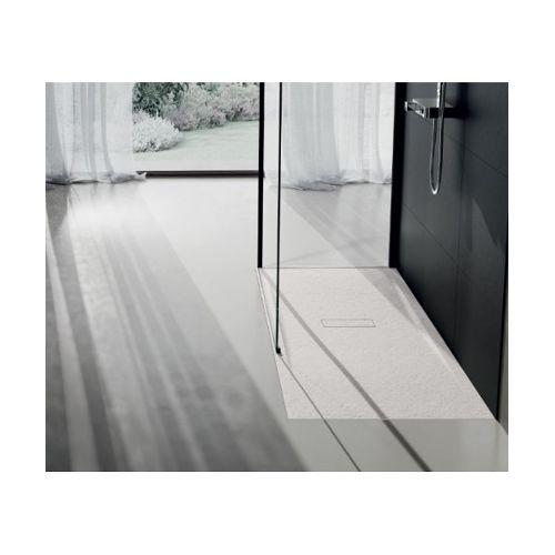 coude plat pvc rigide rectangulaire 40 x 110 mm vers rond 80 mm