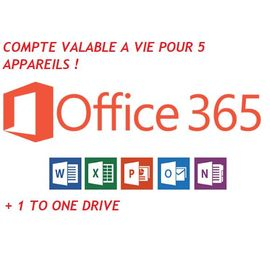 French Days - Office 365 Valable À Vie