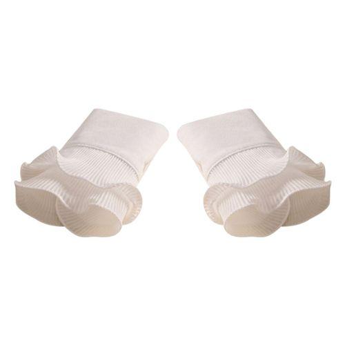 poil long écarlate Tissu FAUSSE FOURRURE Super Luxueuse matière