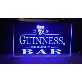 Panneau Enseigne Biere Lumineuse Lampe Bar Led Neon Cafe Guinness Pub 54jqL3RA