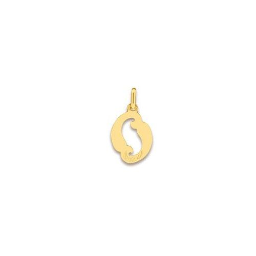 12mm x 15mm Mia Diamonds 14k Yellow Gold Special Niece Pendant