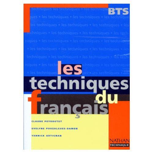 Les Techniques Du Francais Bts