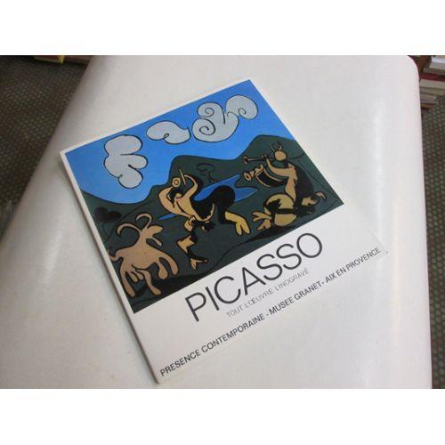 Picasso Tout L Oeuvre Linograve Centieme Anniversaire De Sa Naissance