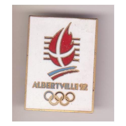 Etiquette Autocollante Albertville 1992  Officiel Numéro 21 Jeux Olympiques JO