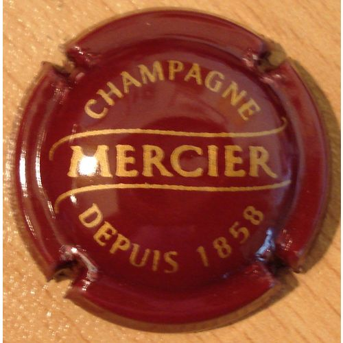 CAPSULE DE CHAMPAGNE MERCIER*