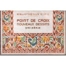 Point de croix , nouveaux dessins 5 ème série / 16 planches | Rakuten