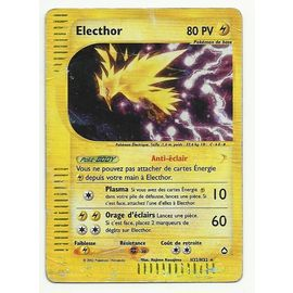 Pokemon Electhor H32 H32 Aquapolis Cartes De Jeux Rakuten