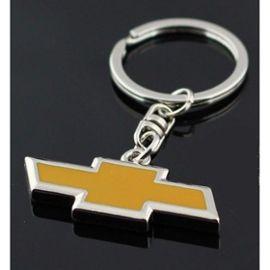 Porte Cle Chevrolet Metal Logo Jaune Voiture Americaine Usa Rakuten
