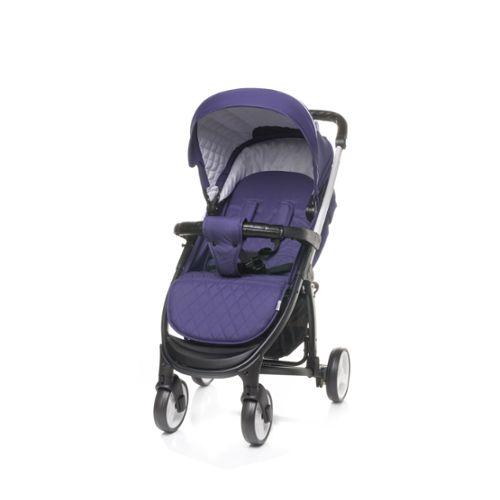 Bleu Marine Violet Parasol compatible avec Hauck Malibu-Noir Gris Rouge Crème