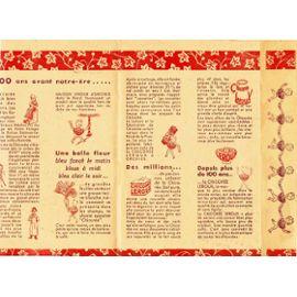 protége cahier chicorée leroux