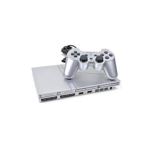 PS2 Slim Silver - Modèle : SCPH-75004