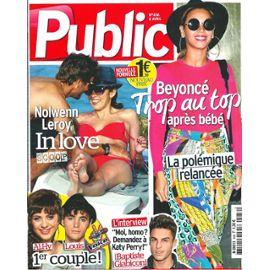 pas mal 42c9d 34ae0 Public 0.00456 beyoncé : la polémique ! (trop au top après son bébé)  nolwenn leroy & arnaud clement