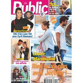 Public N 824 Laure Manaudou Jeremy Frerot Karine Ferri Harry Meghan Nabilla Adele Sophir Turner Interview Gilles Lelouche Marlene Duval