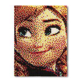 Quercetti 0806 Jeu De Mosaïques Pixel Art Reine De Glace 6400 Pièces Multicolore