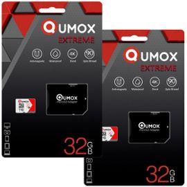 Qumox Extreme Carte Memoire Micro Sd 32go Sdhc Classe 10 Uhs I 90mo S Retail Lot De 2 Rakuten