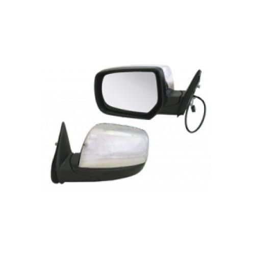 Miroir De Verre Gauche Convexe Chrome Pour Fiat Marea Limo Kombi 96-03