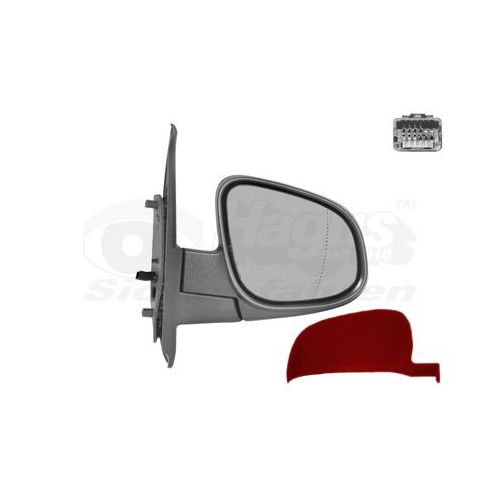 Droit Côté Conducteur Flat Wing Door Mirror Glass for Toyota Auris 2006-2012 Chauffé