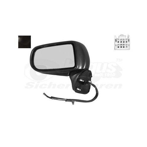 Pour Ford Fusion 2002-2012 NOUVELLE porte miroir Capot Noir Caps Paire Gauche Droit