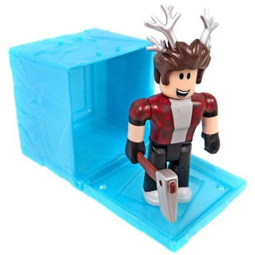 Carton Crusader ROBLOX Mini Figure avec jeu virtuel code Series 4 NEUF