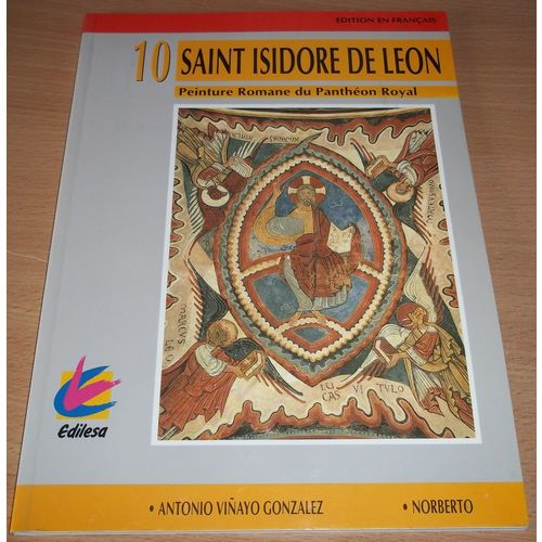 Saint isidore de leon peinture romane du panthéon royal   Rakuten