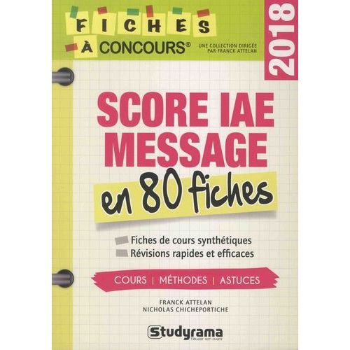 score iae message