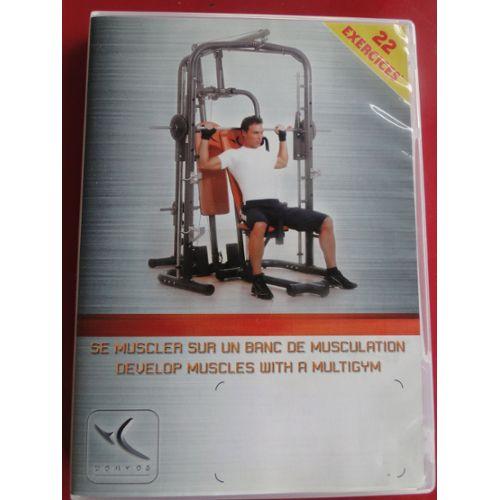 SE MUSCLER SUR UN BANC DE MUSCULATION - 22 EXERCICES | Rakuten