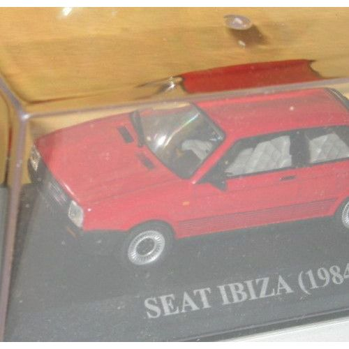 IXO 1//43 SEAT IBIZA 1984 NEUF EN BOITE