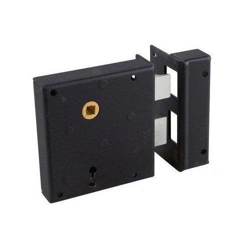 0 x 20mm Vis de penture 6 zingu/ée noire Alsafix