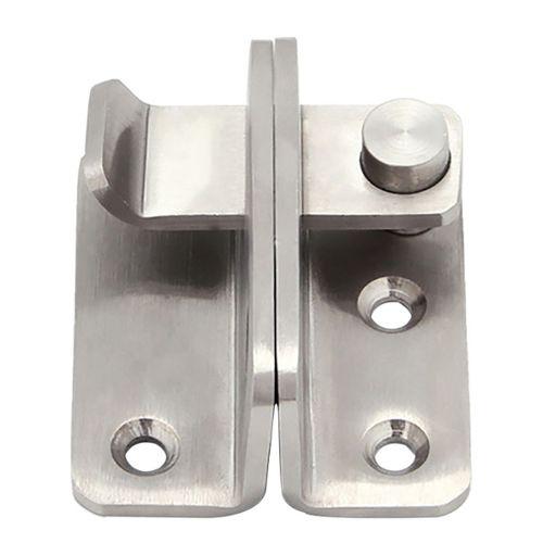 verrou de porte coulissante avec vis tournevis pour salle de bain abri de jardin douche WC 7,6 cm en acier inoxydable Lot de 4 boulons de porte