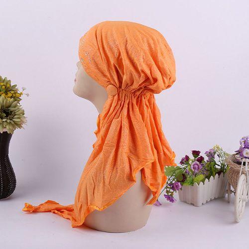Femme douce soie carrée écharpe poignet plaine foulard tête nuque partie bandeaI