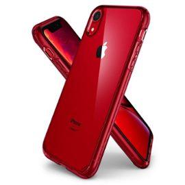 spigen coque iphone xr 61ultra hybrid coque 2en1 renfcee dos bumper anti chocs pour iphone xr 1239963747 ML