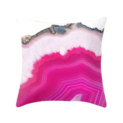 PAD Oreiller Housse Velours Smooth Dusty Pink 50x50cm