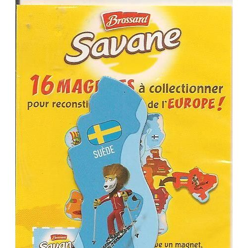 Carte Europe Brossard.Suede Euro Magnet Brossard Carte D Europe